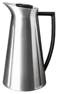Rosendahl Grand Cru Thermos jug steel. With push-button function. 1,0 l