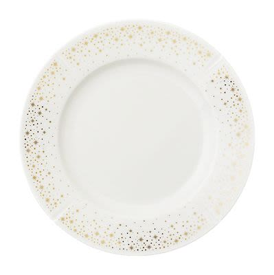 Rosendahl Moments Dessert Plate Ø19 cm white porcelain with gold. Min. buy 4 pcs.