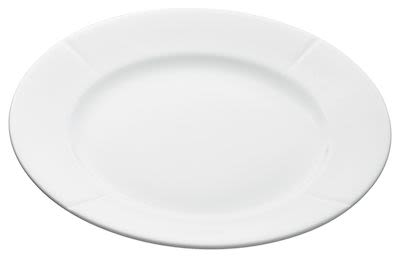 Rosendahl Grand Cru Dinner Plate Ø27 cm white porcelain. Min. buy 12 pcs.