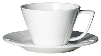 Rosendahl Grand Cru Tea cup with matching saucer 28 cl white porcelain