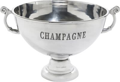 Orrefors Champagne Bowl, round