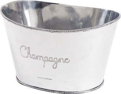 Orrefors Champagne Bowl, oval