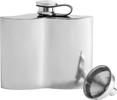 Sagaform Mustasch pocket flask 13 cl