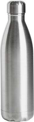 Sagaform Steel bottle 50 cl, silver