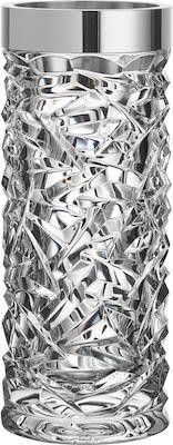 Orrefors Carat Vase crystal, H. 24 cm.