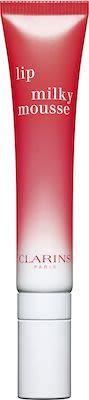 Clarins Lip Milky Mousse Liquid Lipstick N° 1 Milky Strawberry 7 ml