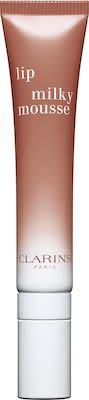 Clarins Lip Milky Mousse Liquid Lipstick N° 6 Milky Nude 7 ml