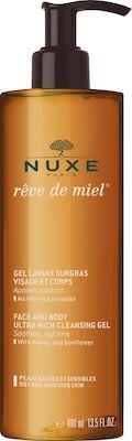 Nuxe Rêve De Miel Ultra-Rich Cleansing Gel 400 ml