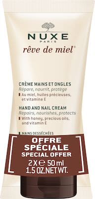 Nuxe Rêve De Miel Duo Hand and Nail Cream 2x 50 ml