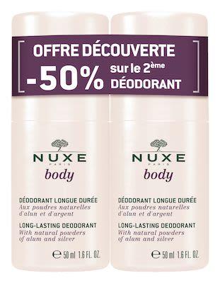 Nuxe Body Duo Deodorant Set 2x 50 ml