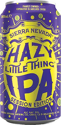 Sierra Nevada Session Hazy Little Thing 12x35,5 cl. cans. - Alc. 4,6% Vol.