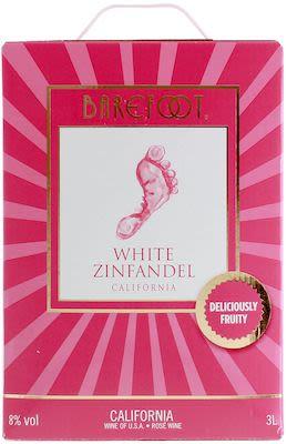 Barefoot White Zinfandel BIB 300 cl. - Alc. 8% Vol.