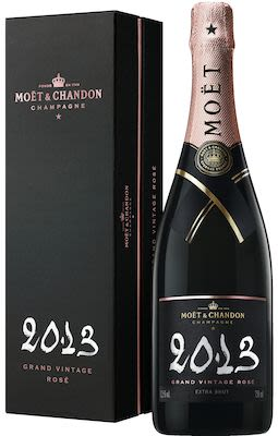Moët & Chandon Grand Vintage Rosé 75 cl. - Alc. 12,5% Vol.In gift box.