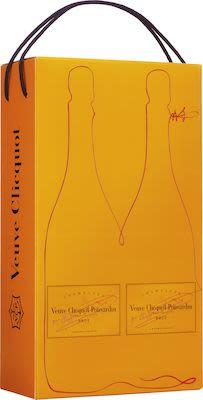 Veuve Clicquot Brut Twinpack 2x75 cl. - Alc. 12% Vol.In gift box.