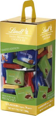 Lindt Assorted Napolitains with Pistachio 500g