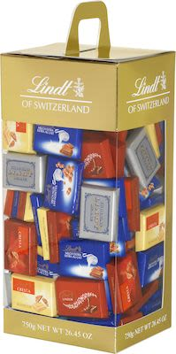 Lindt Assorted Napolitains Carrier Box 750g