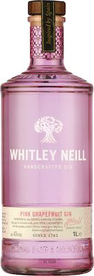 Whitley Neill Pink Grapefruit Gin 100 cl. - Alc. 43% Vol.