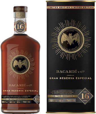Bacardi Gran Reserva Especial 16y 100 cl. - Alc. 40% Vol.
