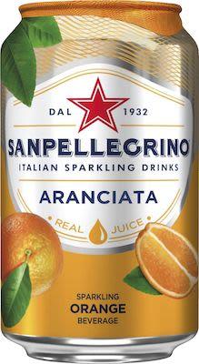 Sanpellegrino Aranciata 24x33 cl. cans.
