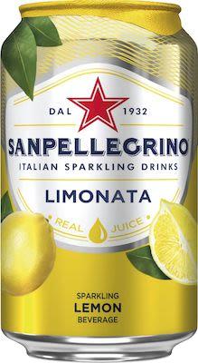 Sanpellegrino Limonata 24x33 cl. cans.