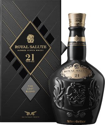 Royal Salute 21 yo Lost blend 70 cl. - Alc. 40% Vol.