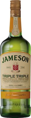 Jameson Triple Triple 100 cl. - Alc. 40% Vol.