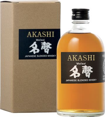 Akashi Meisei, Japanese Blended Whisky 50 cl. - Alc. 40% Vol.In gift box.