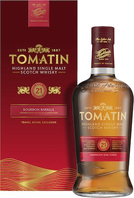Tomatin 21 Years Old 70cl. - Alc. 46% Vol.In gift box.