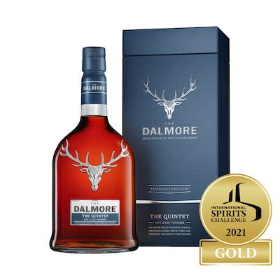 The Dalmore Quintet Highland 70 cl. - Alc. 44,5% Vol.In gift box.