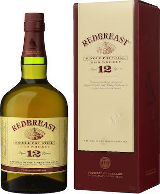 Redbreast 12yo Single Pot Still Irish Whiskey 70 cl. - Alc. 40% Vol.In gift box.