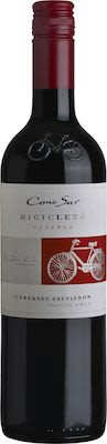 Cono Sur, Bicicleta, Cabernet Sauvignon, Central Valley, DO 75 cl. - Alc. 13,5% Vol.