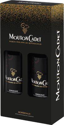 Baron Philippe de Rothschild, Mouton Cadet, Bordeaux, AOC twinpack 2x75 cl. - Alc. 13,5% Vol.
