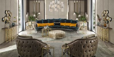 Pearl Infinity 5 seater sofa