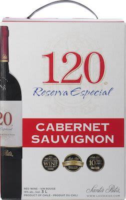 Santa Rita 120 Cabernet Sauvignon BIB 300 cl. - Alc. 13% Vol.