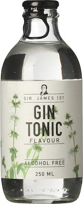 Sir James 101 Gin Tonic Flavour Alcohol free 12x25 cl. blts.