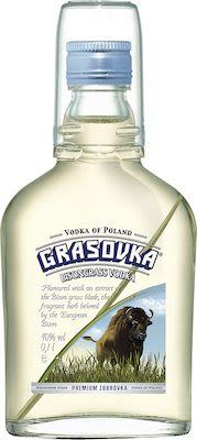 Grasovka, Bison Grass Vodka 38% 0.1L 10 cl. - Alc. 38% Vol.