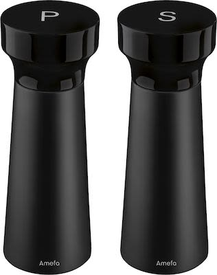 Amefa modern Shade  Salt and Pepper mill set