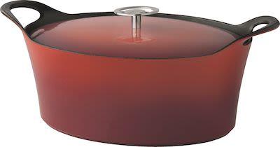 Cuisinox Cast Iron Casserole Red 29 cm