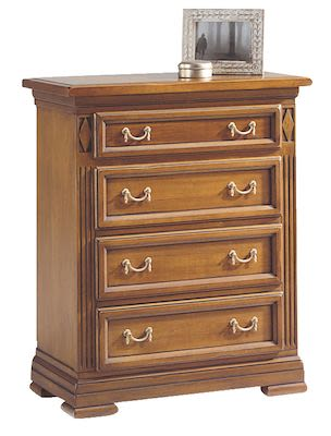 Selva Villa Borghese Chest of drawers, W74xD38xH90cm