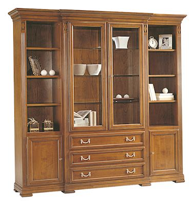 Selva Villa Borghese China cabinet, W218xD48xH210cm