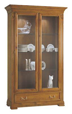 Selva Villa Borghese China cabinet, W122xD43xH200cm