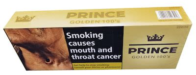 Prince Golden Taste 100s 200 pcs