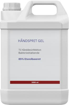 Hand sanitizer gel - 500 cl.