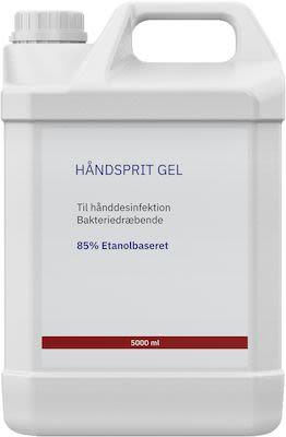 Hand sanitizer gel - 500 cl.