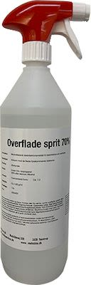 Hospital alcohol 70% for spray bottle surfaces - 100 cl.
