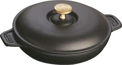 Staub Sur la Table Minis cast iron oven dish with lid round, ø10 cm 0,25 l.