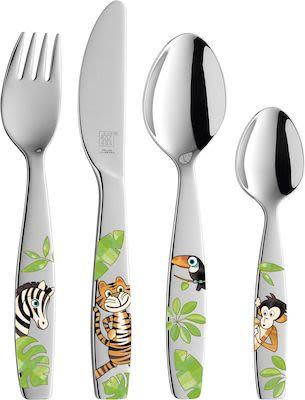 ZWILLING Jungle 4 Piece Children's Cutlery Set