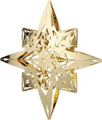 Rosendahl Karen Blixen Star Pendant H9,5 cm. Gold plated