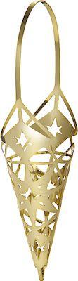 Rosendahl Karen Blixen Cone Hanger H15,6 cm. Gold plated