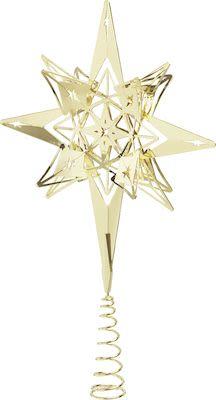 Rosendahl Karen Blixen Top Star H32 cm. Gold plated